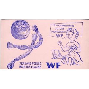 BUVARD WF - PERSANE PERLE - MOULINE FLOCHE