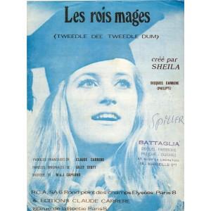 PARTITION DE SHEILA - LES ROIS MAGES