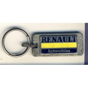 PORTE CLES RENAULT AUTOMOBILES METAL EMAILLE
