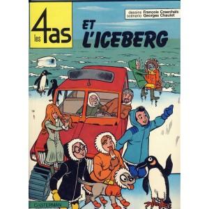 BANDE DESSINEE - LES 4 AS ET L'ICEBERG
