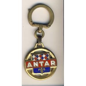 PORTE CLES ANTAR METAL EMAILLE AUGIS.