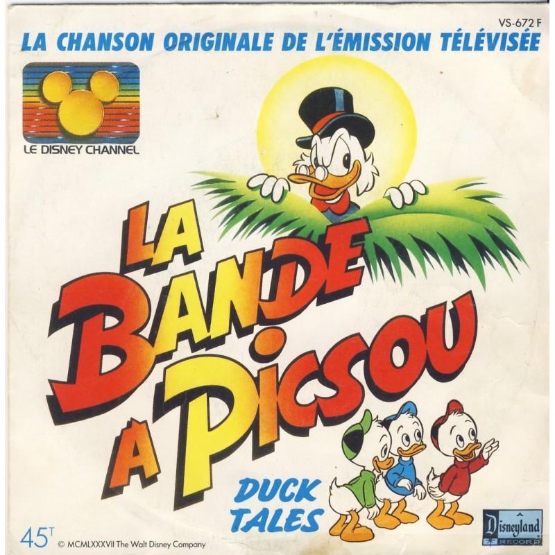 DISQUE 45 TOURS LA BANDE A PICSOU - WALT DISNEY
