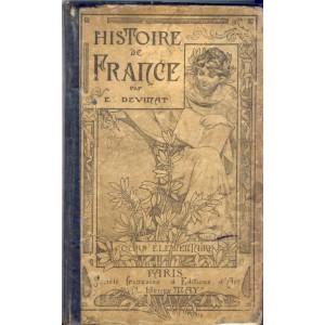 LIVRE SCOLAIRE - HISTOIRE DE FRANCE -  COURS ELEMENTAIRE