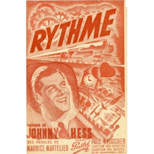 PARTITION DE JOHNNY HESS - RYTHME