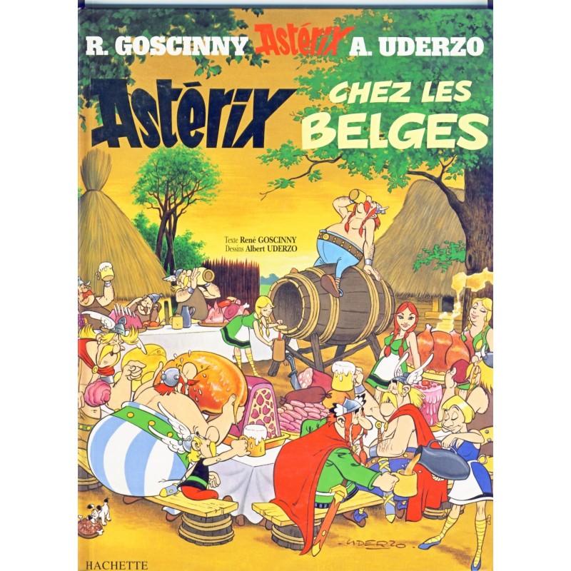 BANDE DESSINEE : ASTERIX CHEZ LES BELGES - ALBUM CARTONNE
