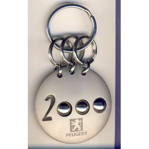 PORTE CLES  PEUGEOT 2000 METAL