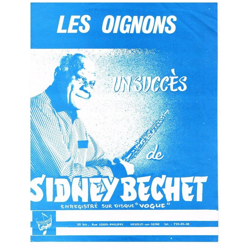 PARTITION DE SIDNEY BECHET - LES OIGNONS