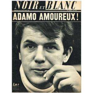 NOIR ET BLANC N° 1173 AOUT 1967 ADAMO : ADAMO AMOUREUX