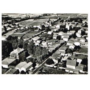 CP38 MARCILLOLES - VUE GENERALE AERIENNE
