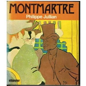 LIVRE : MONTMARTRE par Philipe JULLIAN