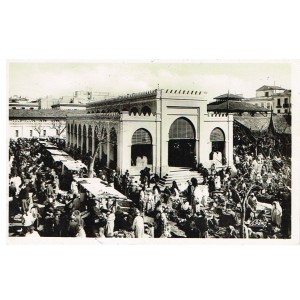 CARTE POSTALE TUNIS -LE MARCHE