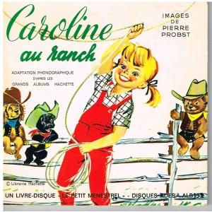 LIVRE DISQUE - CAROLINE AU RANCH