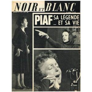 NOIR ET BLANC N° 1276 SEPTEMBRE 1969 - PIAF SA LEGENDE ET SA VIE