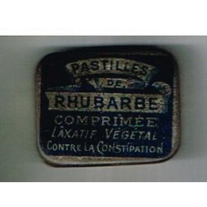 BOITE DE PASTILLES DE RHUBARBE - COMPRIME LAXATIF VEGETAL