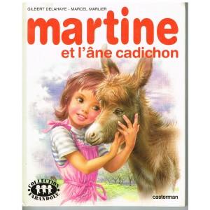 LIVRE : MARTINE ET L'ANE CADICHON
