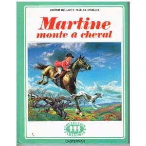 LIVRE : MARTINE MONTE A CHEVAL