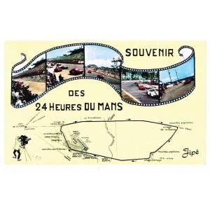 CP72  LE MANS -SOUVENIR DES 24 HEURES DU MANS