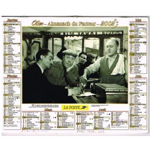 CALENDRIER ALMANACH DU FACTEUR 2002 FERNANDEL - LE MOUTON A CINQ PATTES