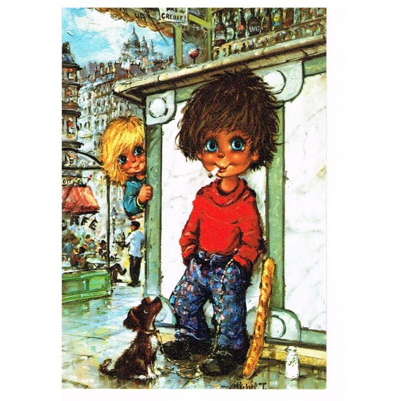 Carte Postale de MICHEL THOMAS - B 102.76 - LE BISTROT
