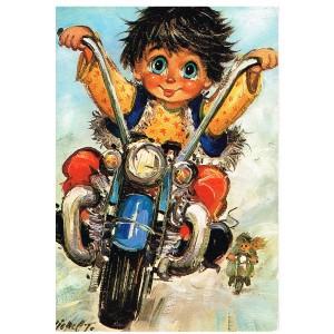 Carte Postale de MICHEL THOMAS - B 102.158 - BALLADE EN MOTO