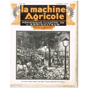 PERIODIQUE LA MACHINE AGRICOLE  JUIN 1928
