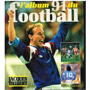 LIVRE DE SPORT : L'ALBUM 91 DU FOOTBALL