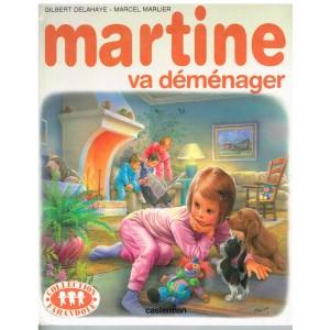 LIVRE : MARTINE VA DEMENAGER