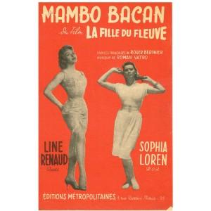 PARTITION LINE RENAUD - SOPHIA LOREN - MAMBO BACAN