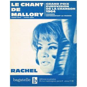 PARTITION RACHEL - LE CHANT DE MALLORY
