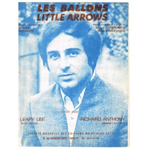 PARTITION DE RICHARD ANTHONY : LES BALLONS