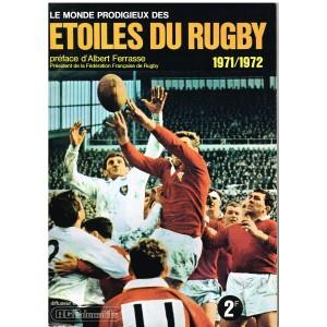 ALBUM DE RUGBY : LE MONDE PRODIGIEUX DES ETOILES DU RUGBY  1971/1972