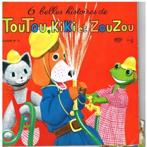 TOUTOU, KIKI ET ZOUZOU - ALBUM N° 6