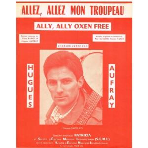 PARTITION DE HUGUES AUFRAY - ALLEZ, ALLEZ MON TROUPEAU