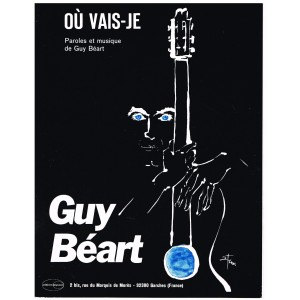 PARTITION DE GUY BEART - OU VAIS-JE.
