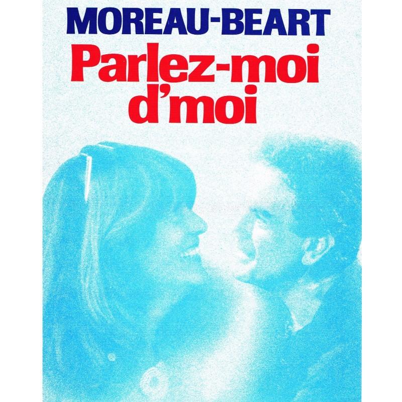 PARTITION DE MOREAU-BEART - PARLEZ-MOI D'MOI