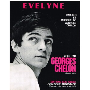 PARTITION DE GEORGES CHELON - EVELYNE