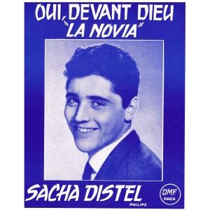 PARTITION DE SACHA DISTEL - OUI, DEVANT DIEU