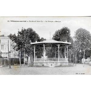 cp47-villeneuve-sur-lot-bd-st-cyr-le-kiosque-a-musique
