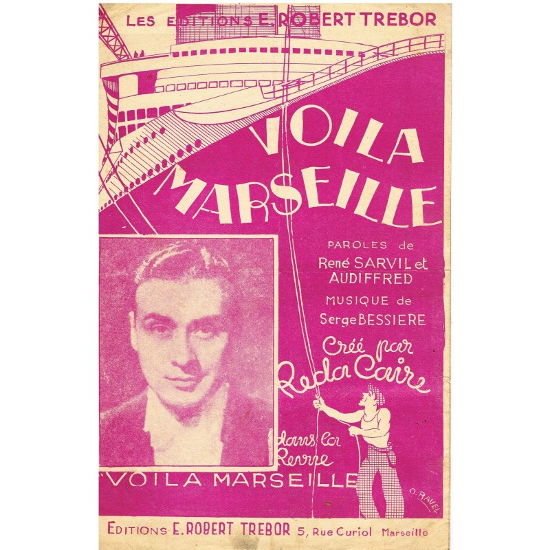 PARTITION DE REDA CAIRE - VOILA MARSEILLE