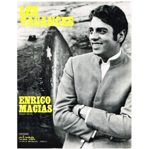 PARTITION DE ENRICO MACIAS - LES VACANCES