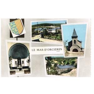 CP48 LE MAS D'ORCIERES -  SOUVENIR - MULTI-VUES