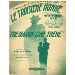 PARTITION DU FILM - LE TROISIEME HOMME