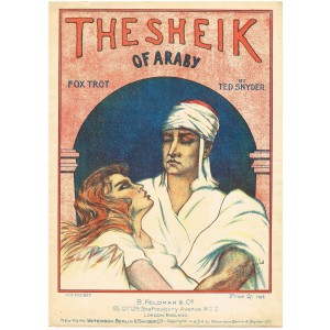 PARTITION FOX TROT - THE SHEIK OF ARABY. TED SNYDER