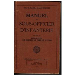 LIVRE - MANUEL DU SOUS-OFFICIER D'INFANTERIE - TOME II