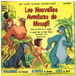 LIVRE DISQUE DISNEYLAND  - LES NOUVELLES AVENTURES DE MOWGLI