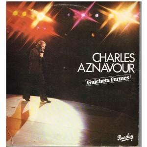 DISQUE DOUBLE 33 TOURS Charles AZNAVOUR - GUICHETS FERMES