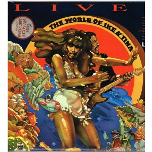 2 DISQUES 33 TOURS  - IKE AND TINA TURNER - LIVE IN EUROPE