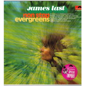 DISQUE 33 TOURS  JAMES LAST - NON STOP EVERGREENS