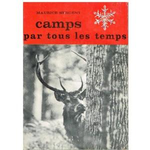 REVUE SCOUTISME -  SCOUTS EN MARCHE N° 10 - CAMPS PAR TOUS LES TEMPS. Maurice SERGENT
