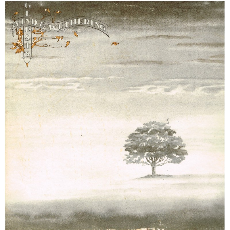 DISQUE 33 TOURS -GENESIS - WIND & WUTHERING